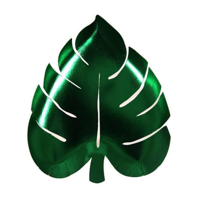 Meri meri Bordje palmblad 8x