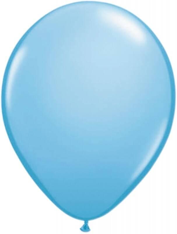 Mini ballon lichtblauw