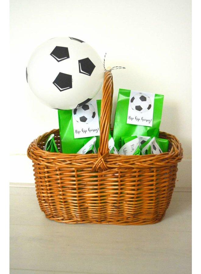 Printables voor voetbaltraktatie