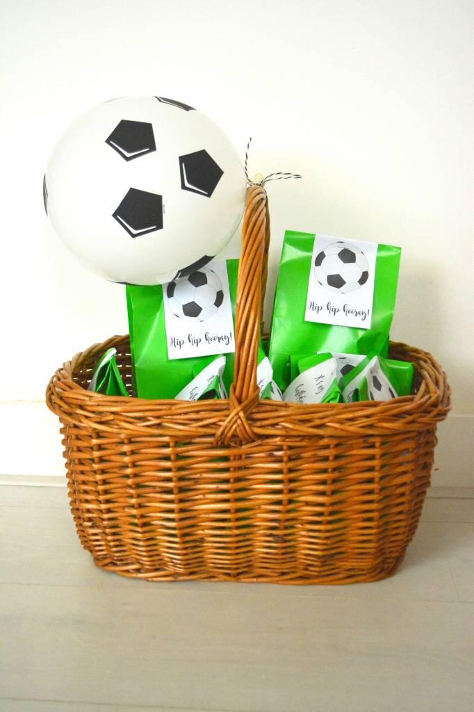 Printables voor voetbal traktatie
