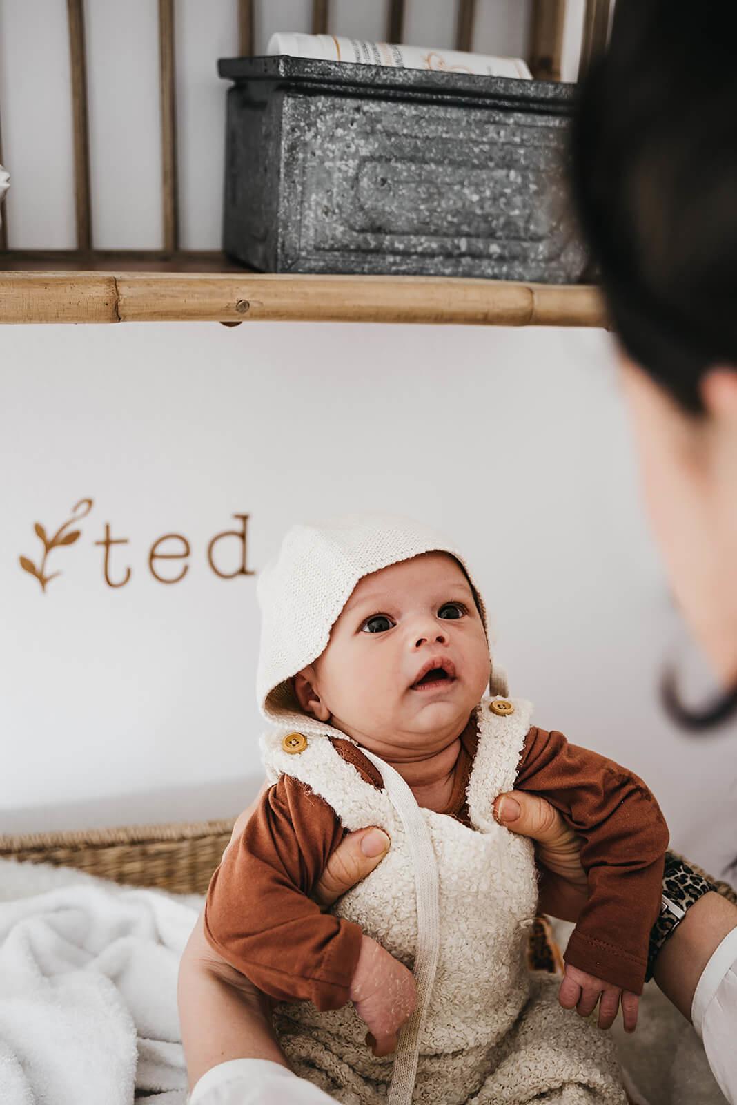 Naamsticker Ted