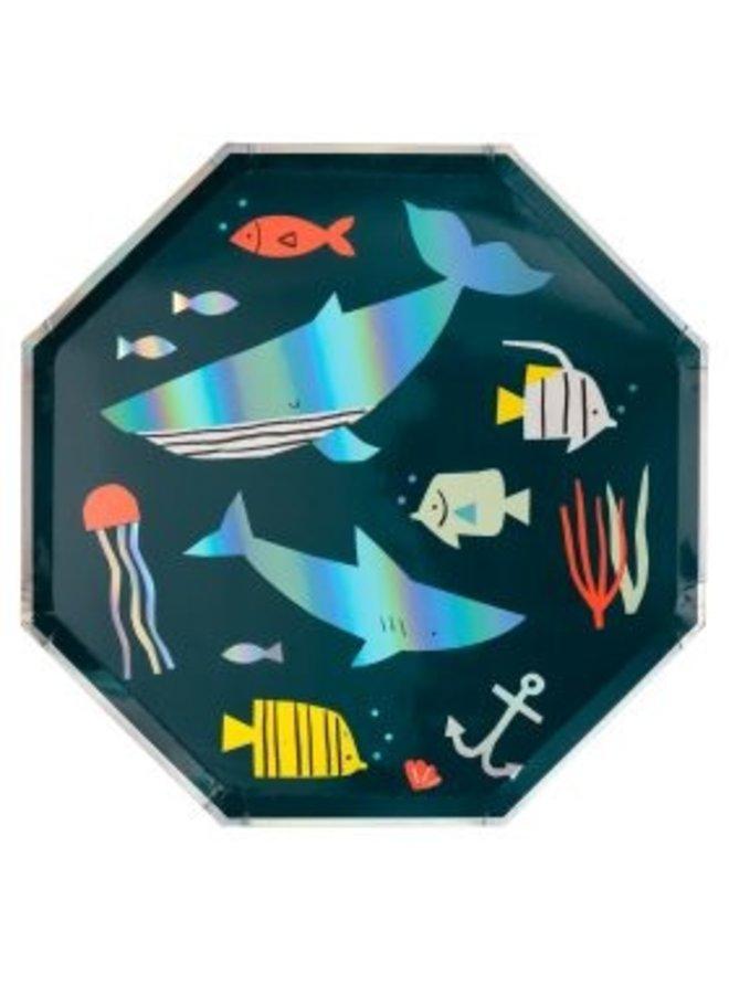Borden vissen Under the sea