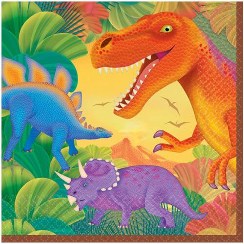 Dino servetten