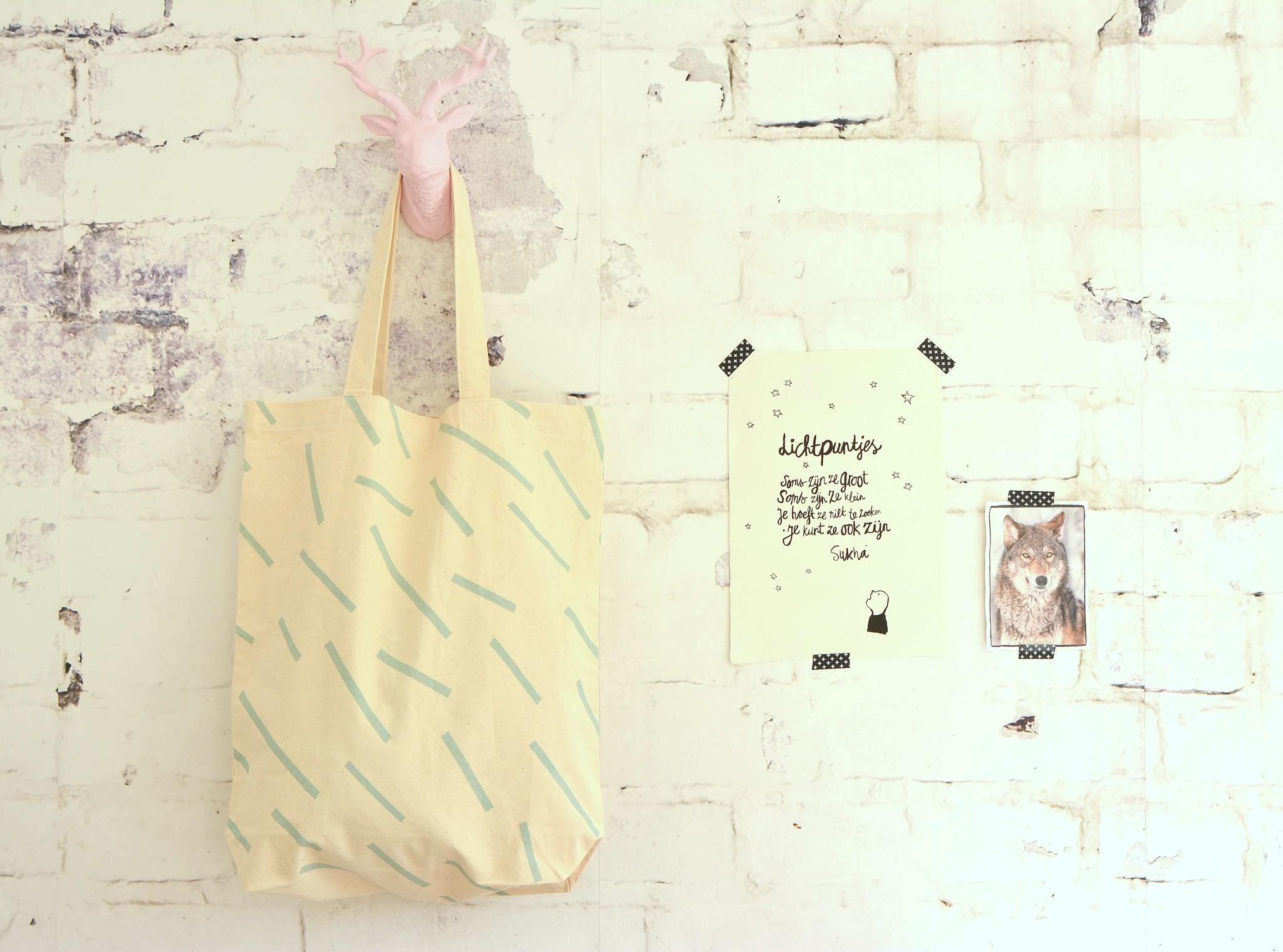 Shopper mint confetti