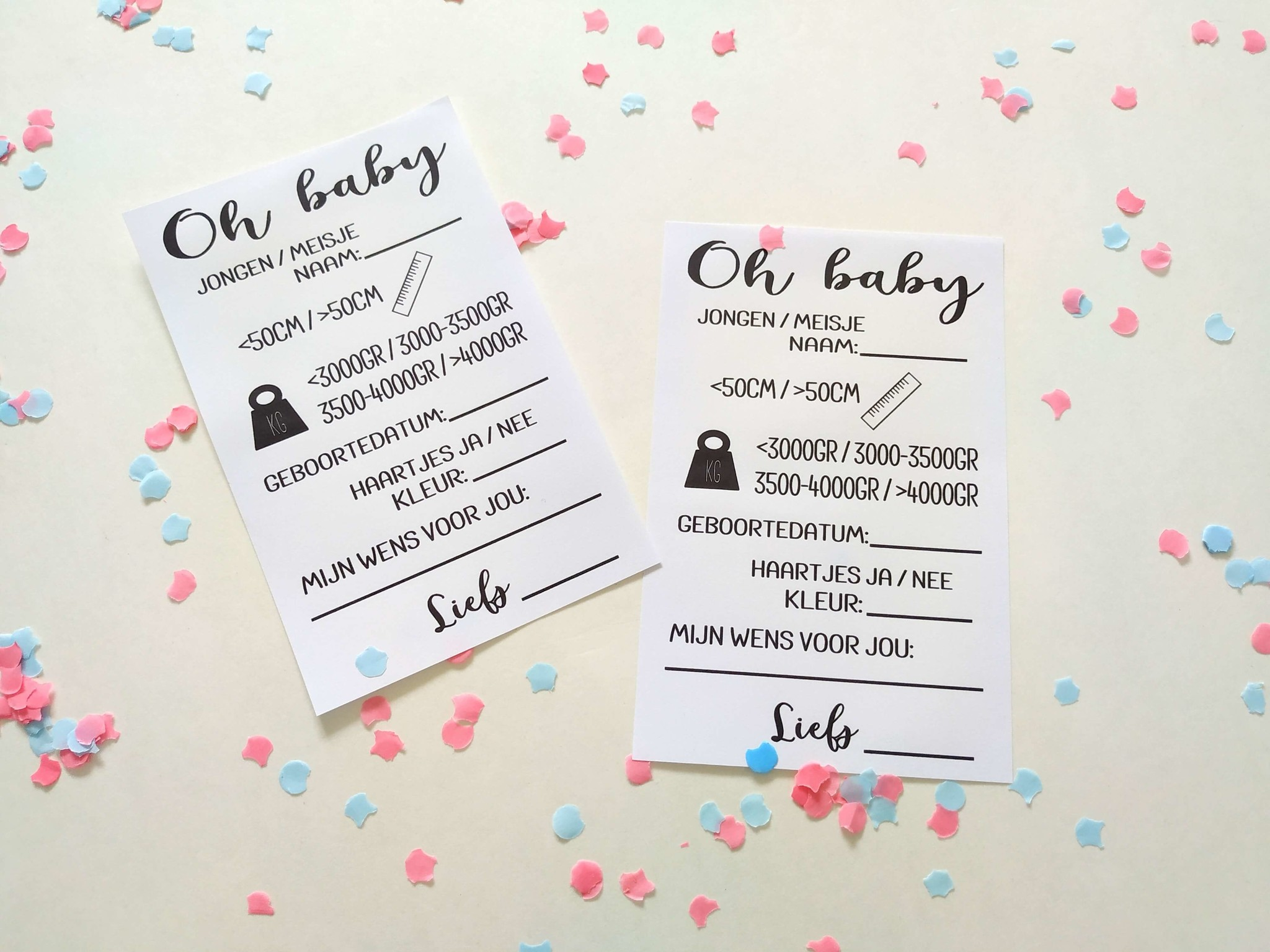 Printable babyshower: Oh baby