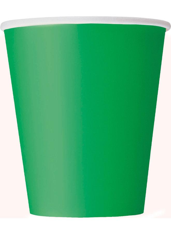 Groene bekers 14x