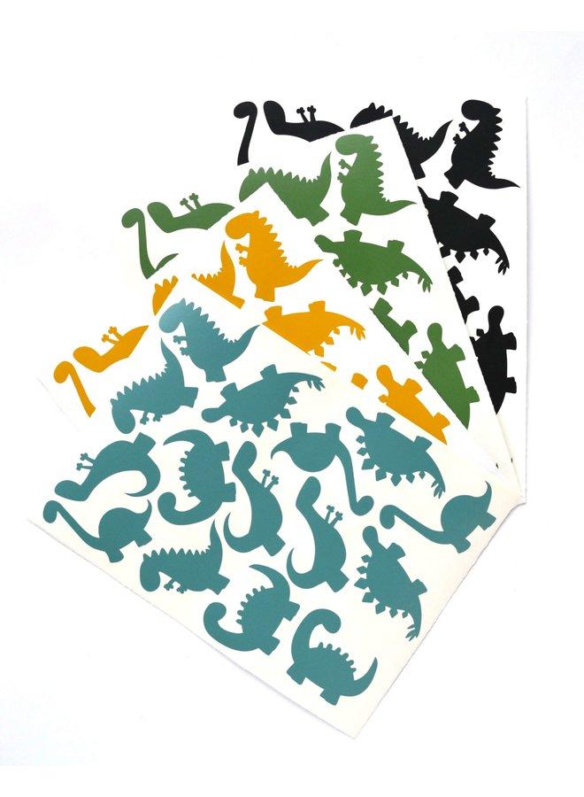 Traktatiestickers Dino