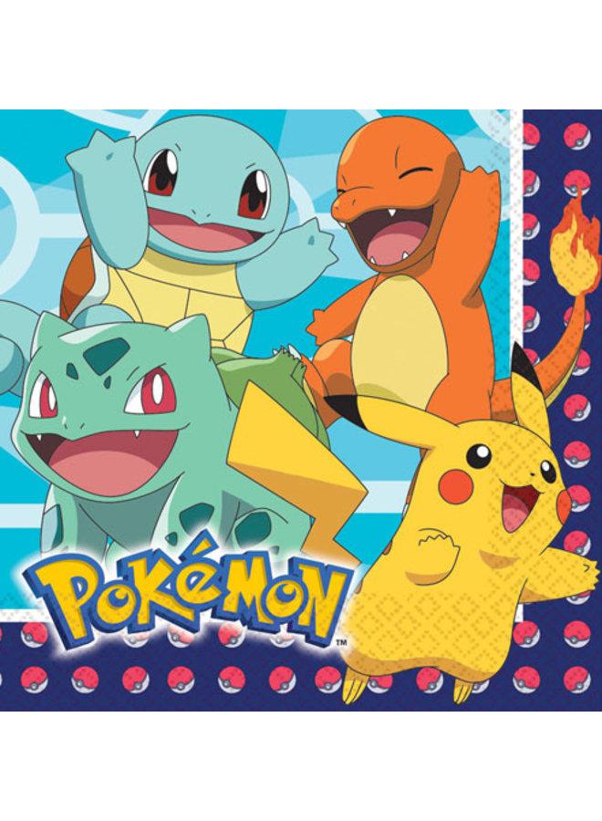 Pokemon servetten (16x)