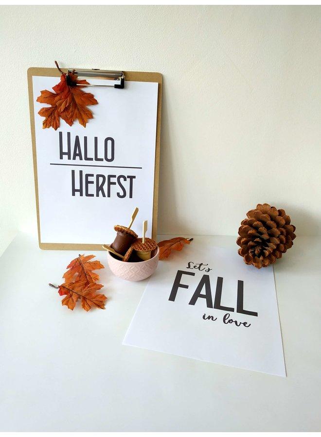 Printable herfstposters 2x
