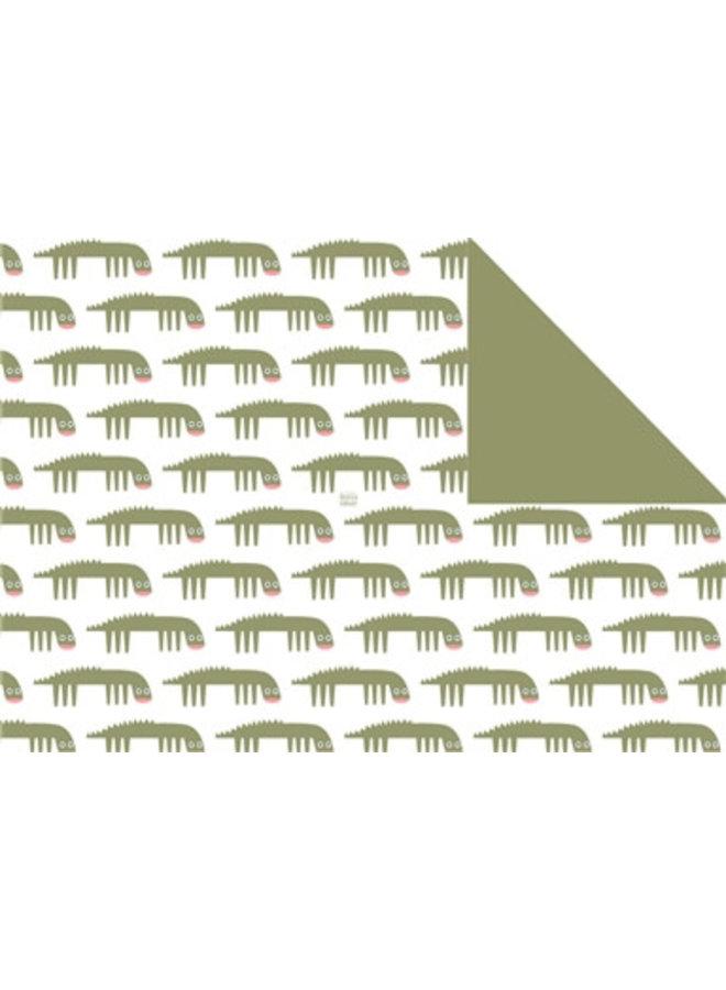 Traktatiezakjes krokodil 5x