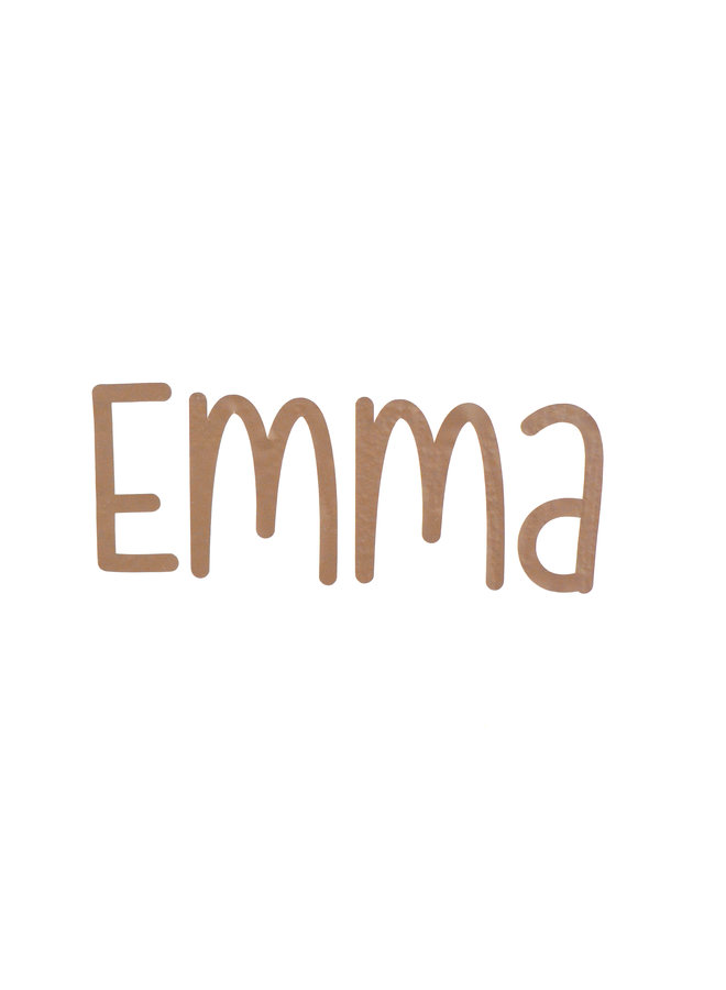 Naamsticker Emma