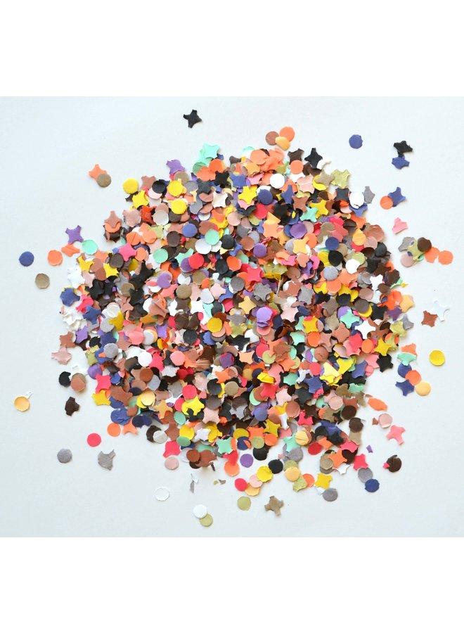 Gekleurde confetti