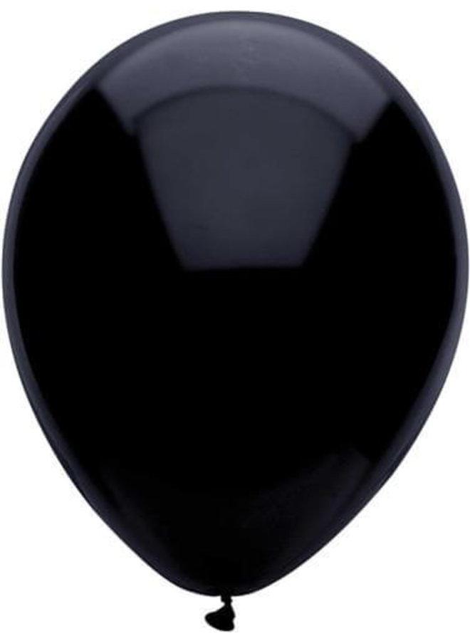 Zwarte  ballonnen 10x