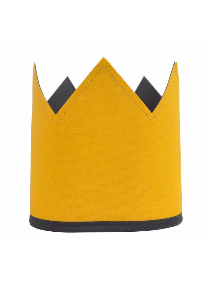 Krijtbordkroon geel
