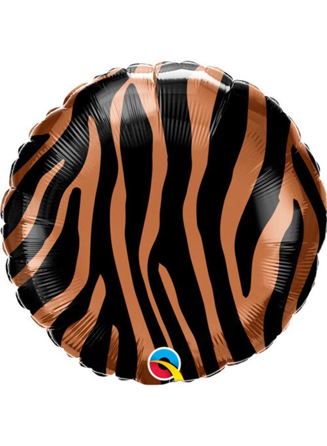 Folieballon tijgerprint