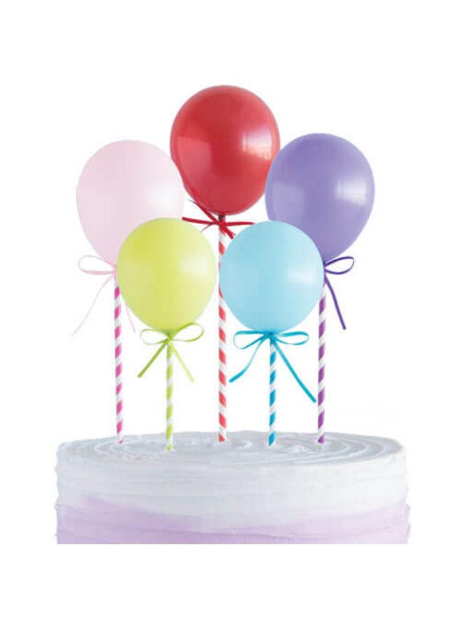 Cake topper ballonnen