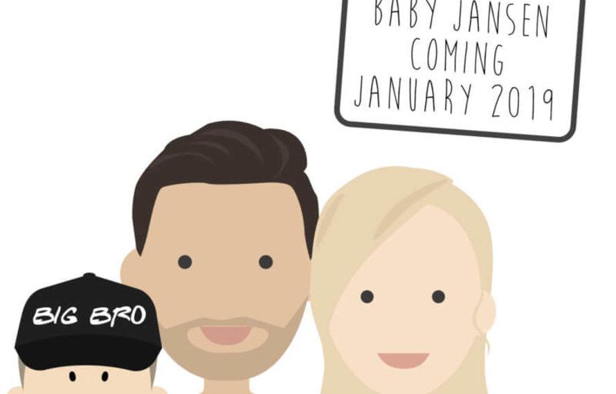 Een zwangerschapsaankondiging: Hoe vertel je op een leuke manier dat je zwanger bent?