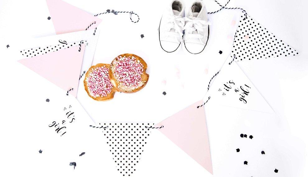 Geboorteversiering: de hipste en de leukste op een rij!