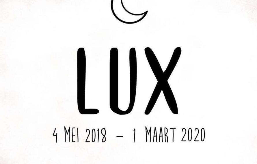Ter nagedachtenis aan Lux