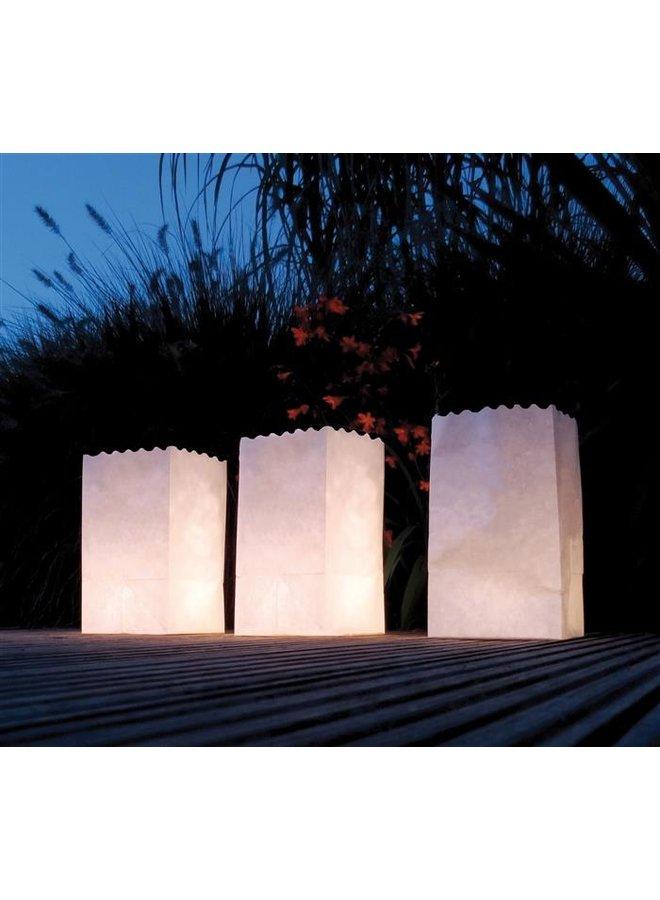 Lichtzakjes wit 5 stuks