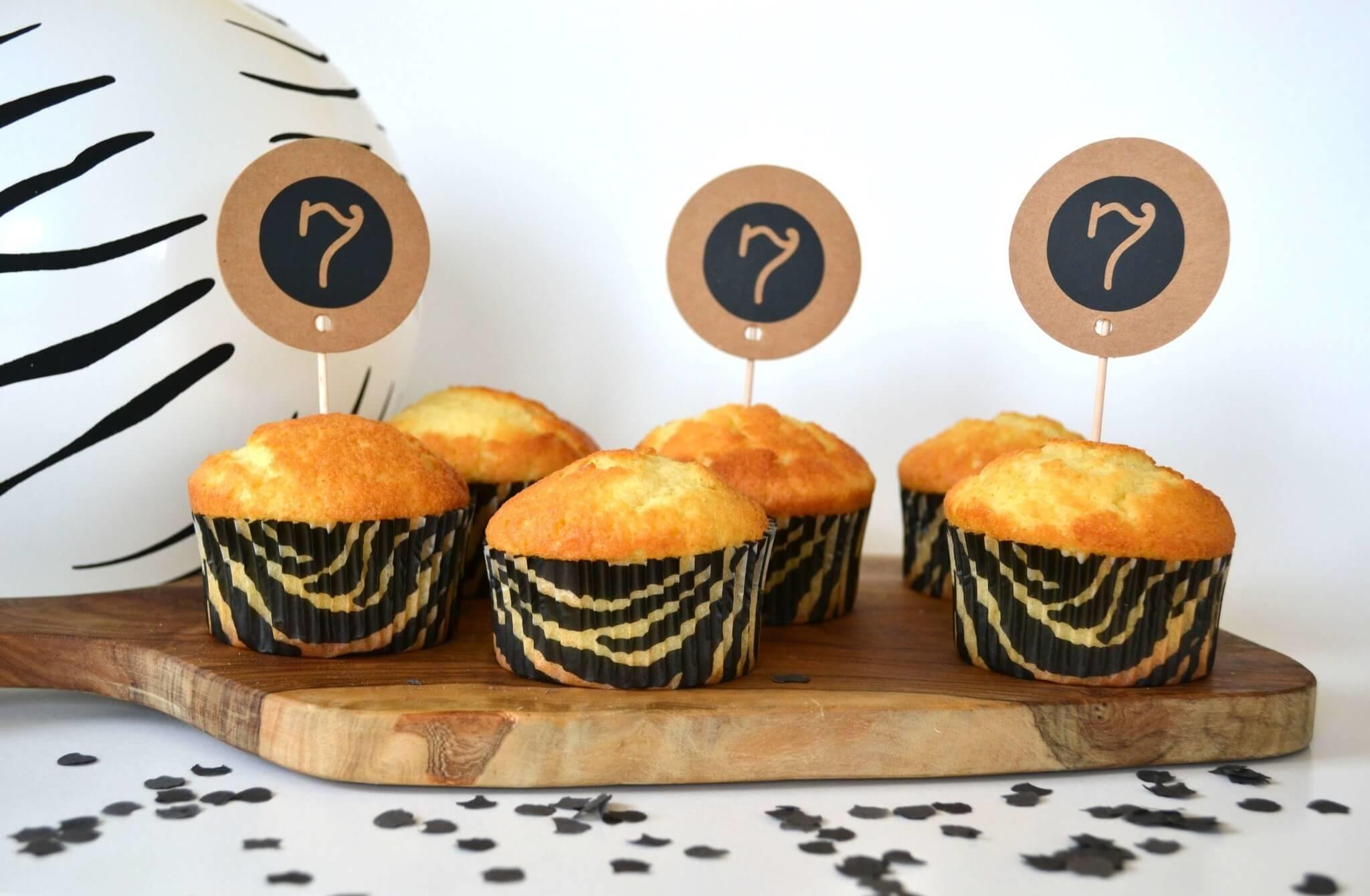 luipaard cupcake
