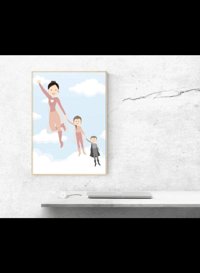 Poster Super (grand) mom