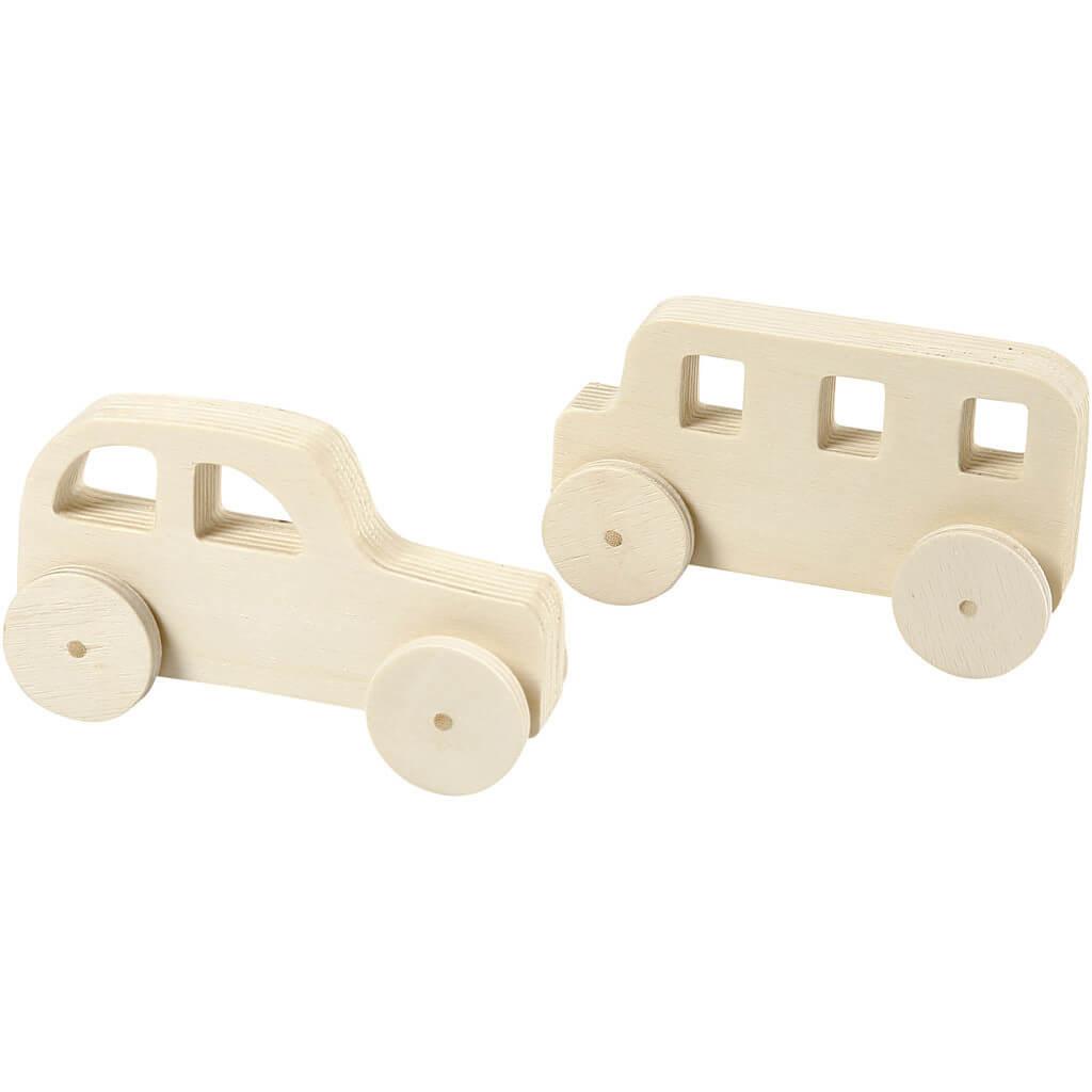 houten auto knutselen