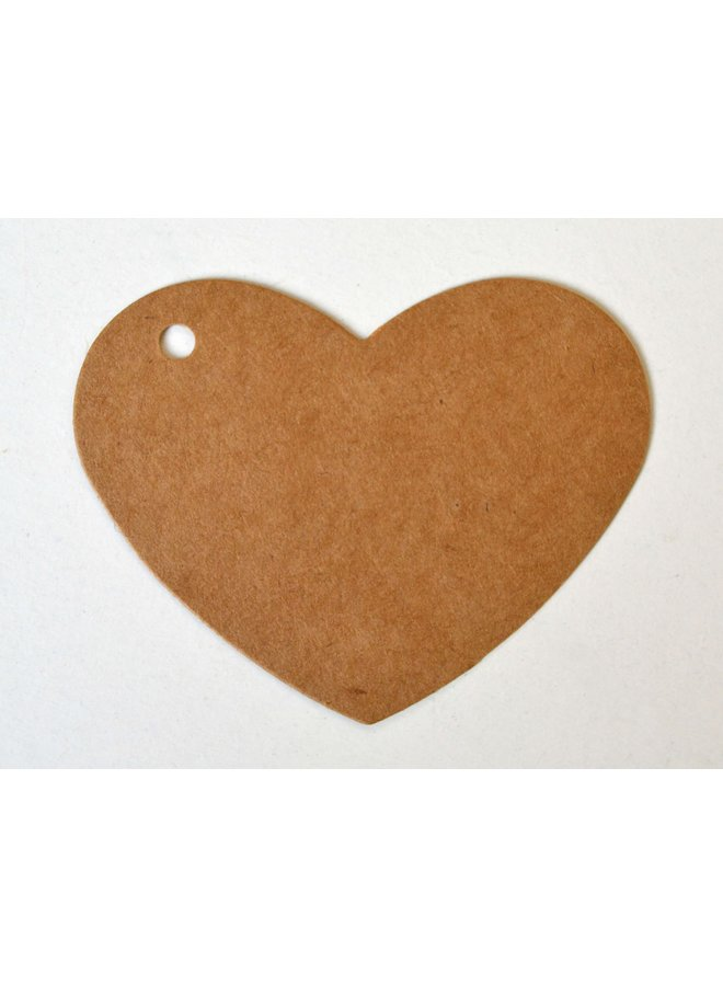 Label hart kraft 5x
