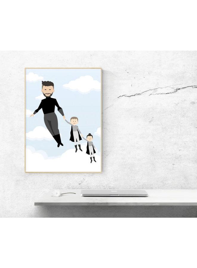 Poster Super (grand) dad