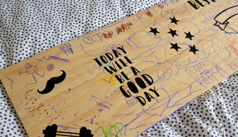 Vaderdag knutselen: origineel vaderdag cadeau knutselen