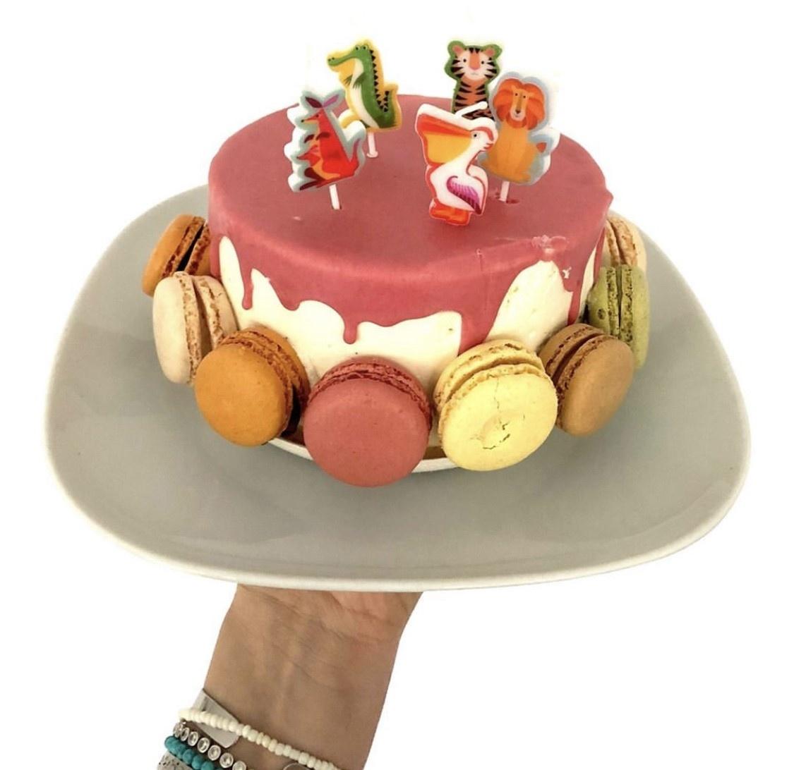 kaarsjes taart