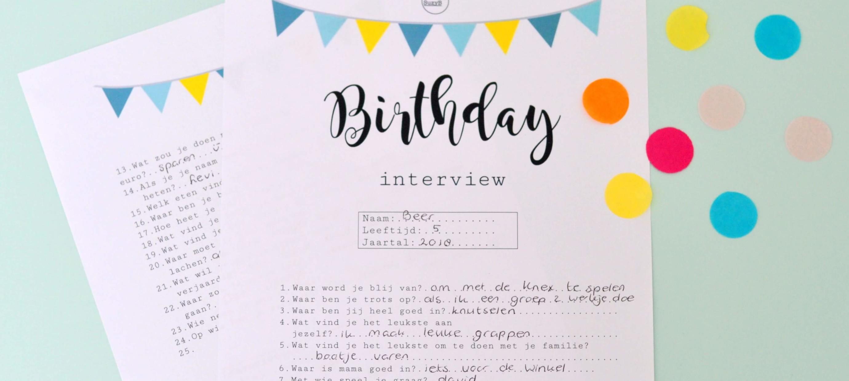 Een kinderverjaardag vieren: 6 verjaardagstradities