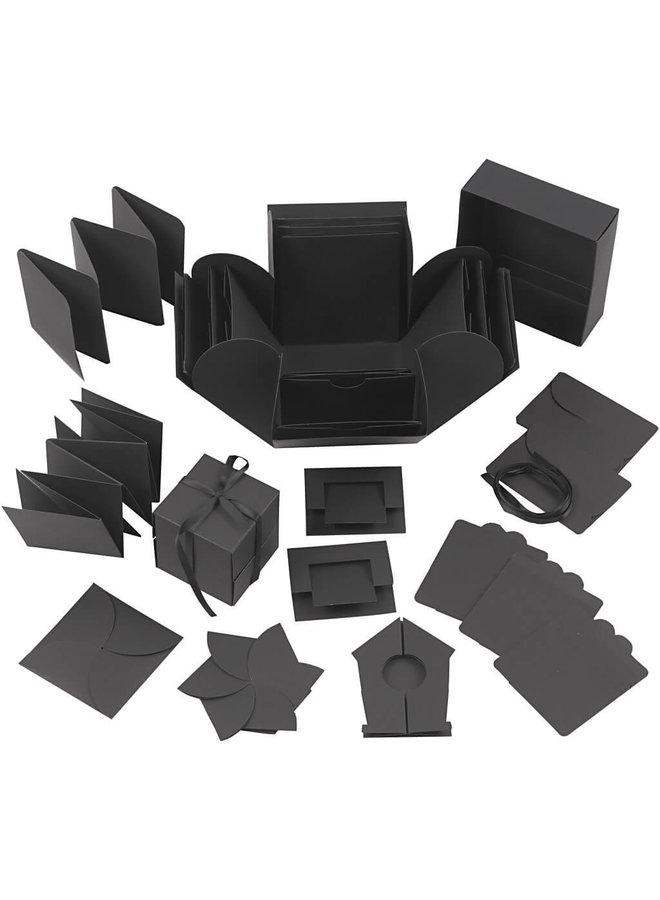 Explosion box (zwart)