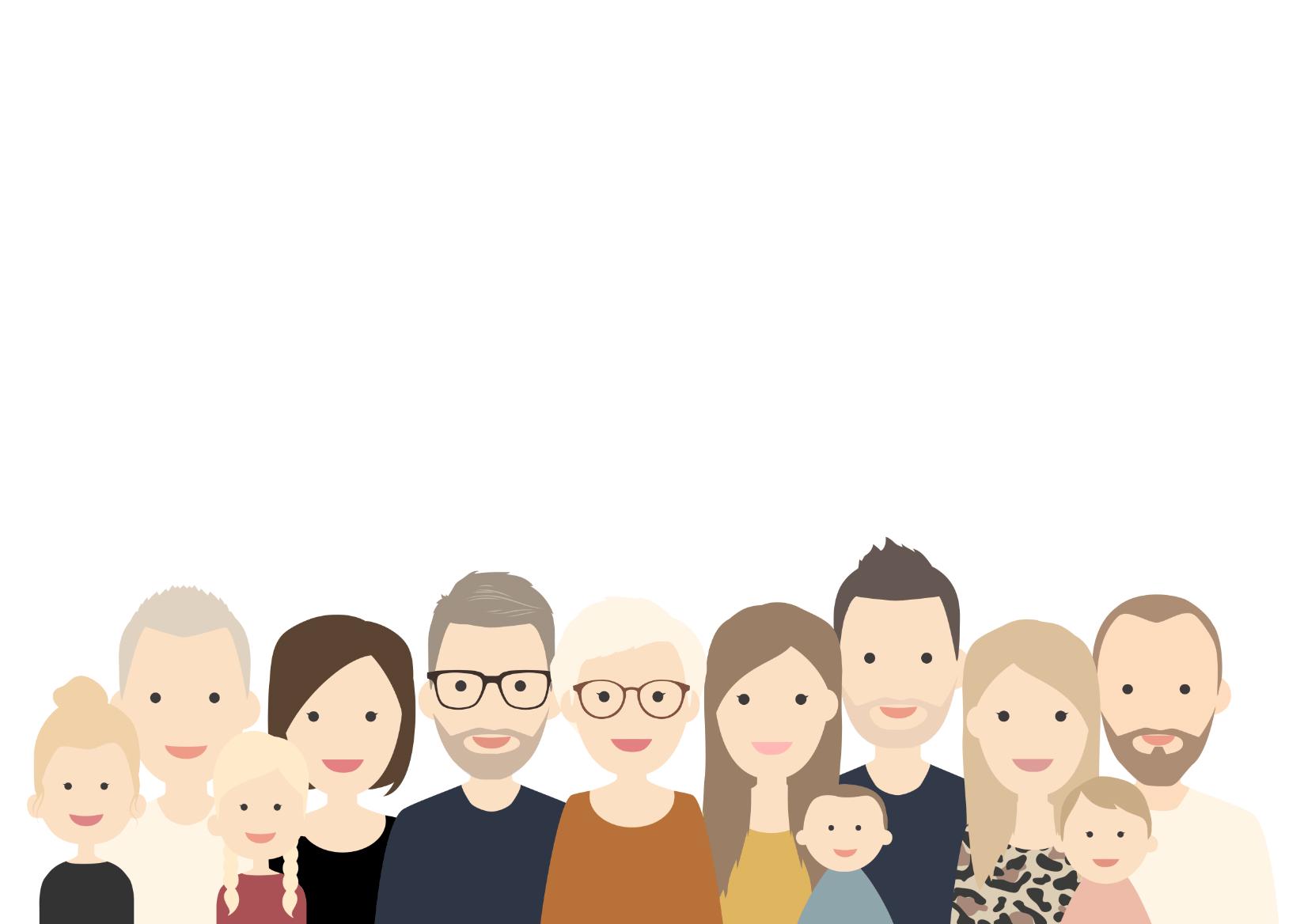 familie portretten