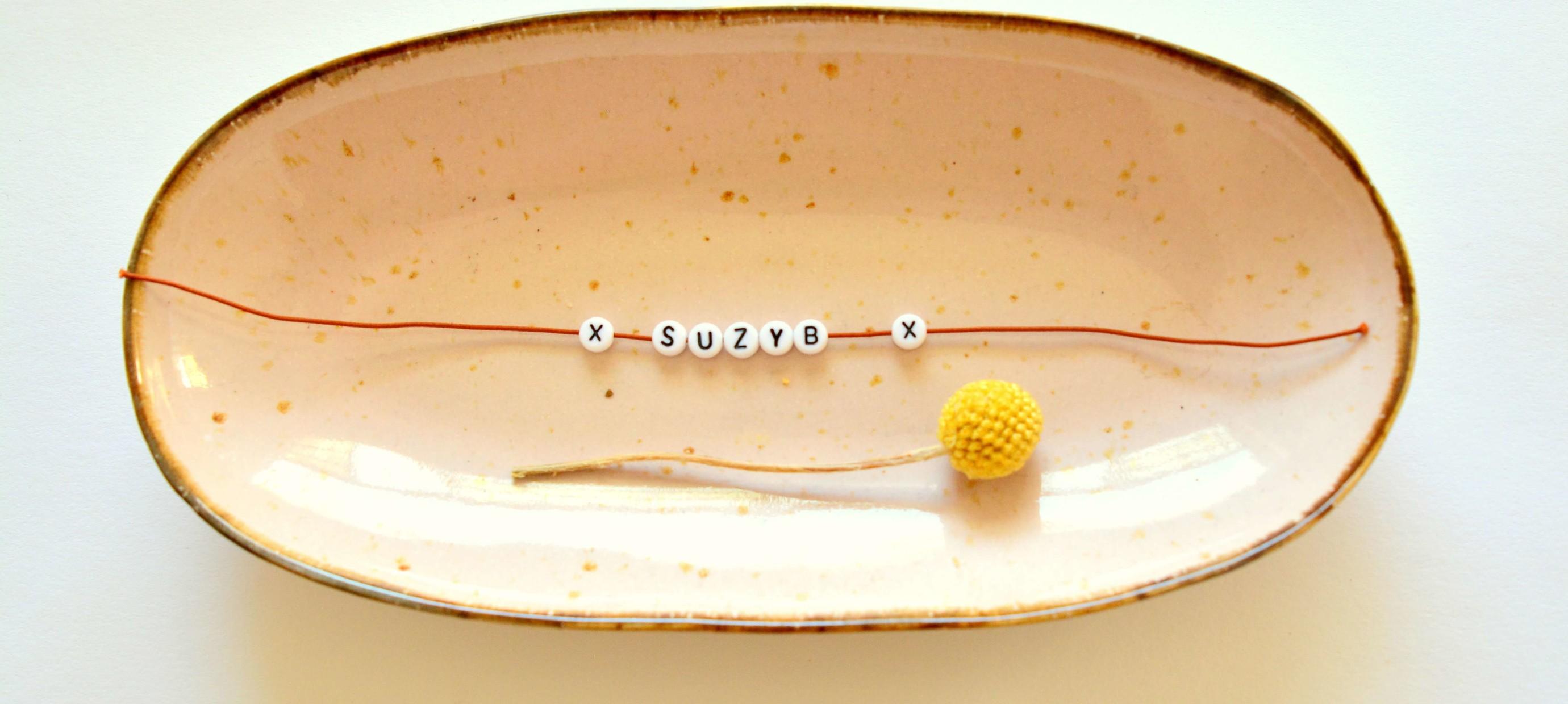 Meer dan 50 Ideetjes voor armbandjes met letters
