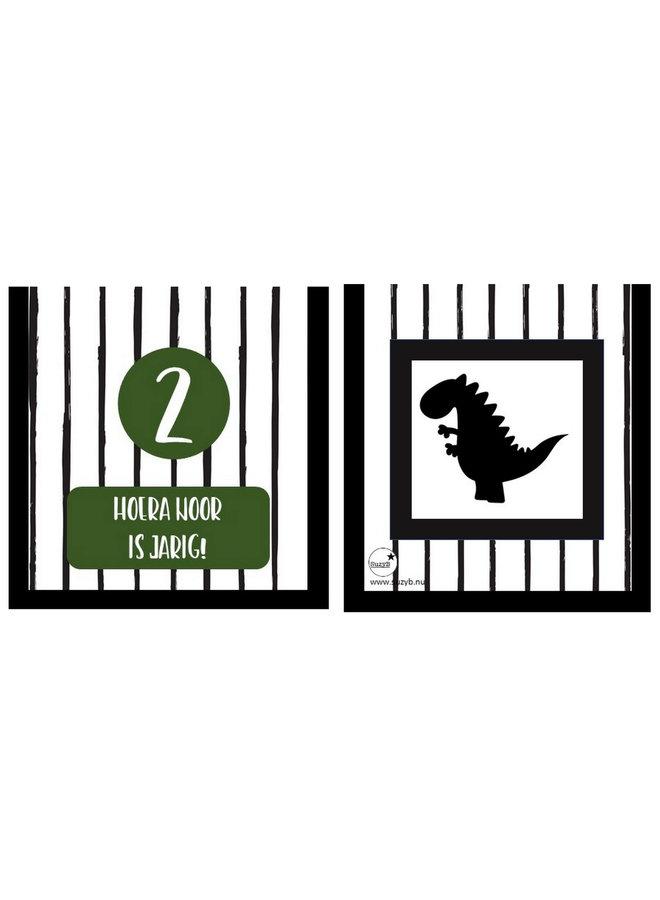 Knijpfruitwikkel Dino  (Printable)