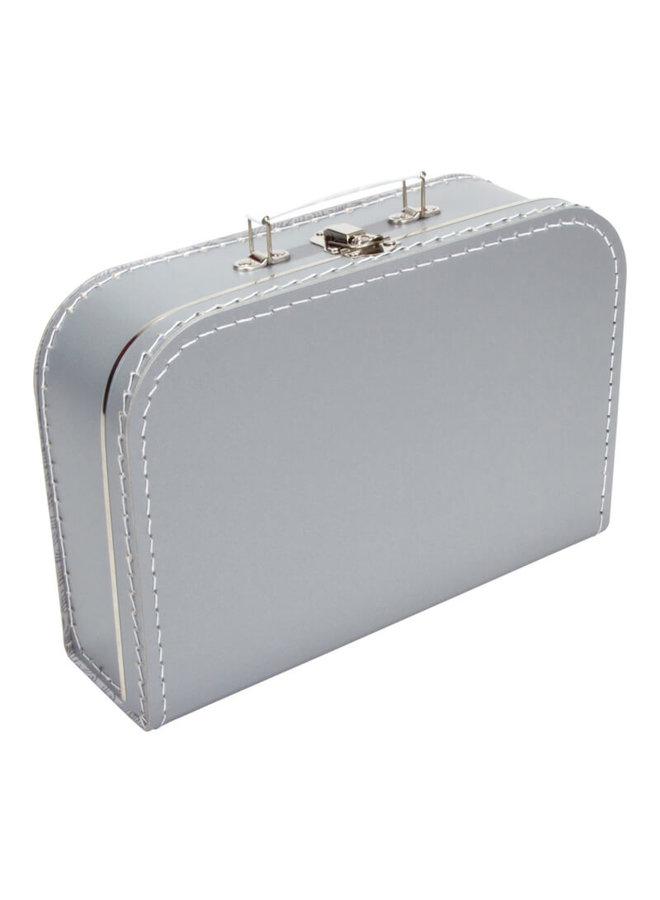 Koffertje met naam en tak