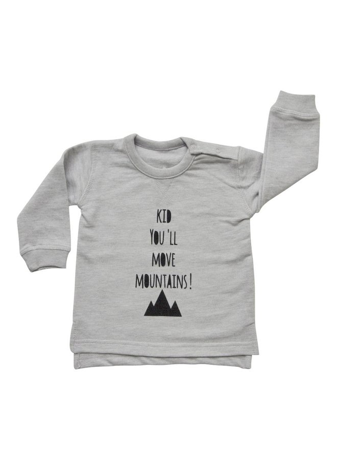 Sweater you'll move mountains