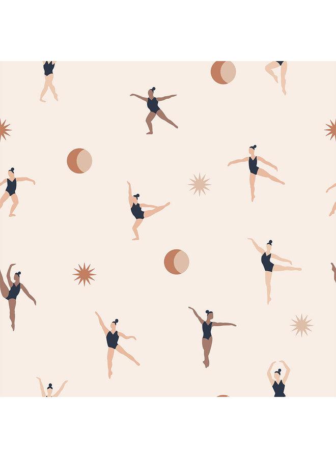 Behang Cosmic Dancers