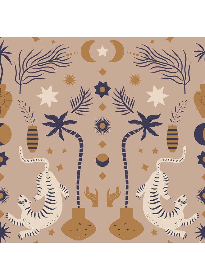 Behang Oriental Dream Brown