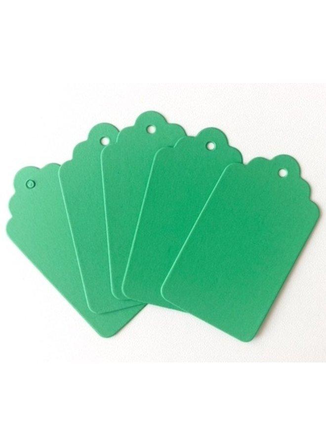Label groen 5x