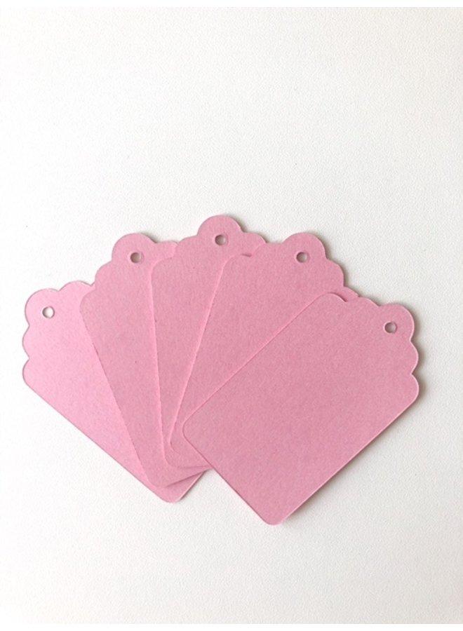 Label roze 5x