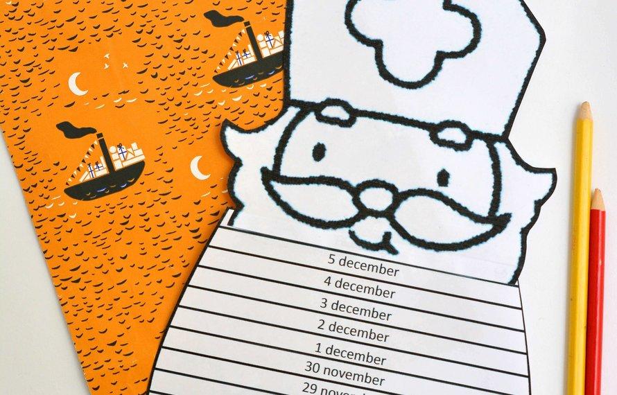 Een aftelkalender maken!