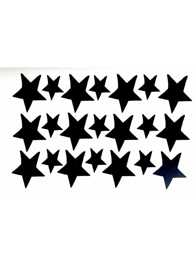 Muursticker sterren
