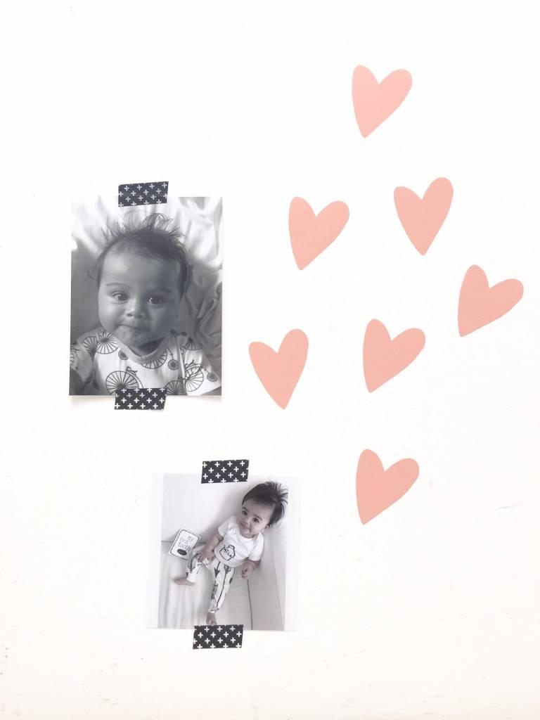SuzyB Muursticker wild hearts