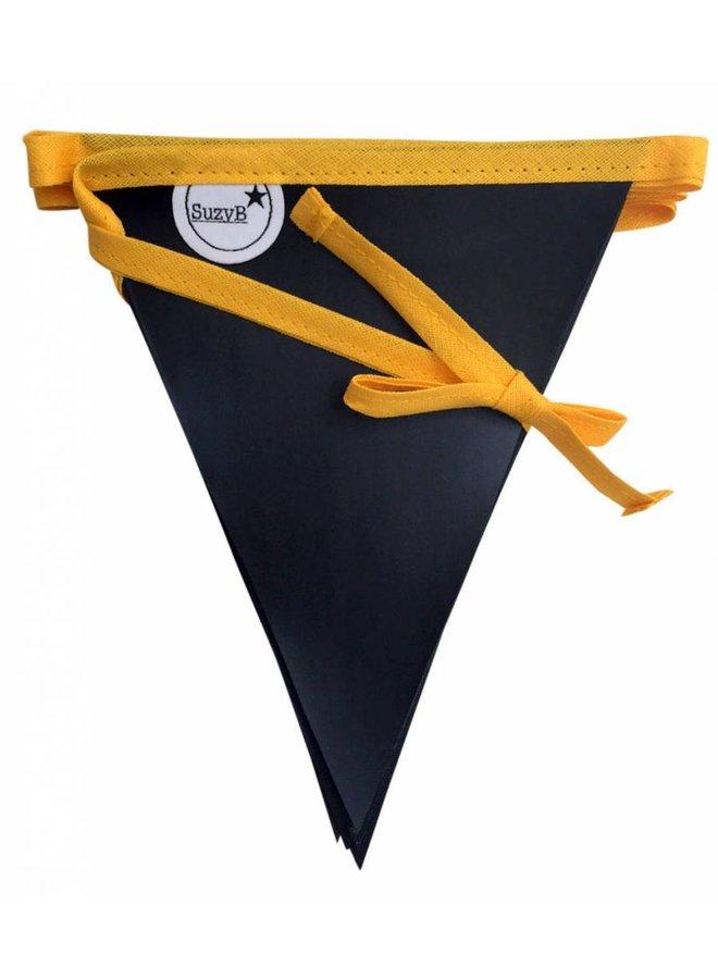 Krijtbordslinger geel