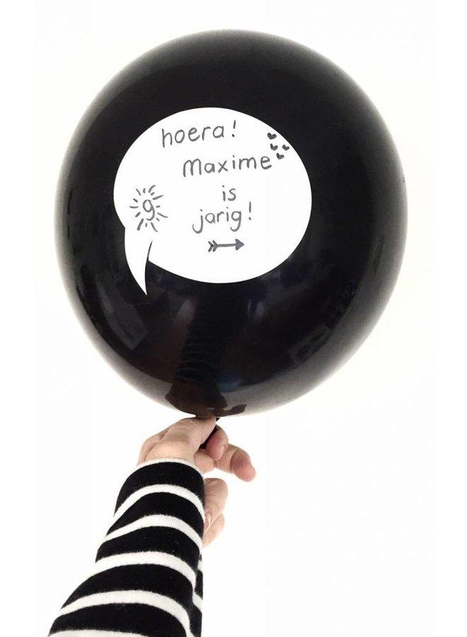 Beschrijfbare ballonnen 5x