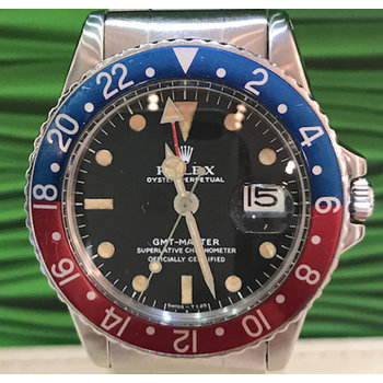 Rolex GMT - Master Ref. 1675 Top/Papers/Box