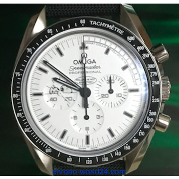 Omega Speedmaster Moonwatch Apollo 13 Silver Snoopy Award 2015 Full Set