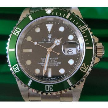 Rolex Submariner Date Ref. 16610 LV Fatfour NOS Y9 ... unworn B & P